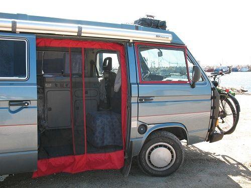 VW Sliding Door Screen | The Skylight Guy