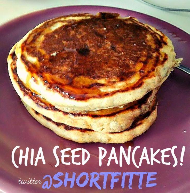 Chia Seed Pancakes!