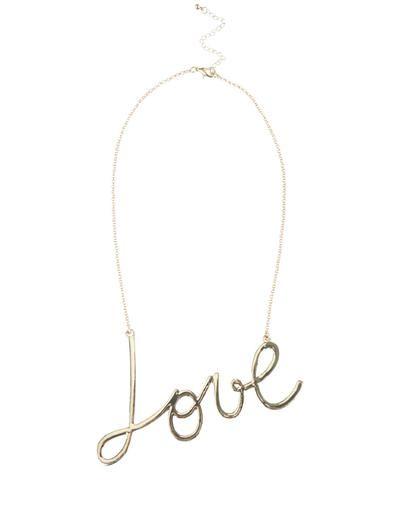 """LOVE"" pendant"