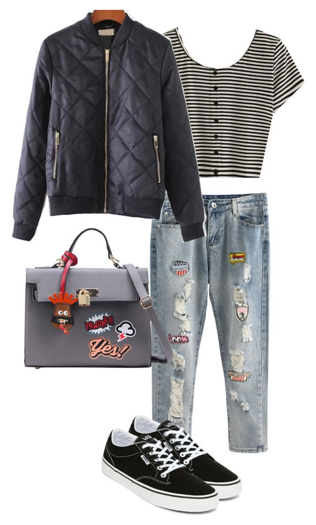 """Untitled #121"" by nellanm on Polyvore featuring Vans"