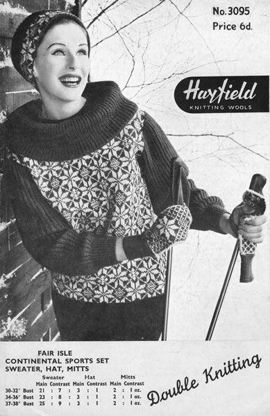 1950s  http://www.thevintageknittinglady.co.uk/images/12oct2011/hayfield3095a.jpg