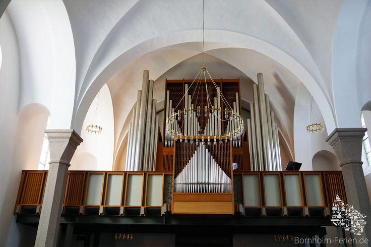 Die Orgel der Nikolaikirche in Rønne #nikolaikirche #roenne #ronne #orgel #bornholm