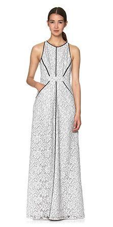 Womens Dresses at Whistles, Corrine Lace Maxi Dress
