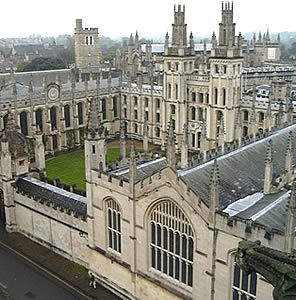 All Soul's College, Oxford,  Shadow Of Night, A Discovery Of Witches, All Souls Trilogy