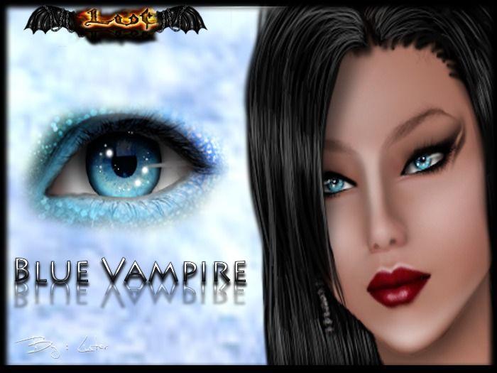 Blue Vampire *** EYES MESH ***