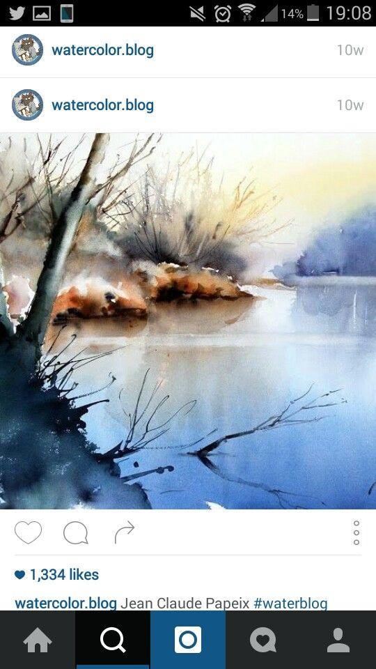 Watercolour art