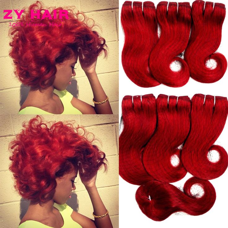 Sexy Formula Rambut Malaysia Tubuh Gelombang Dengan Penutupan Ratu Menenun kecantikan Burgundy 5 Bundel Tubuh Gelombang Dengan Penutupan 8 inch Pendek rambut