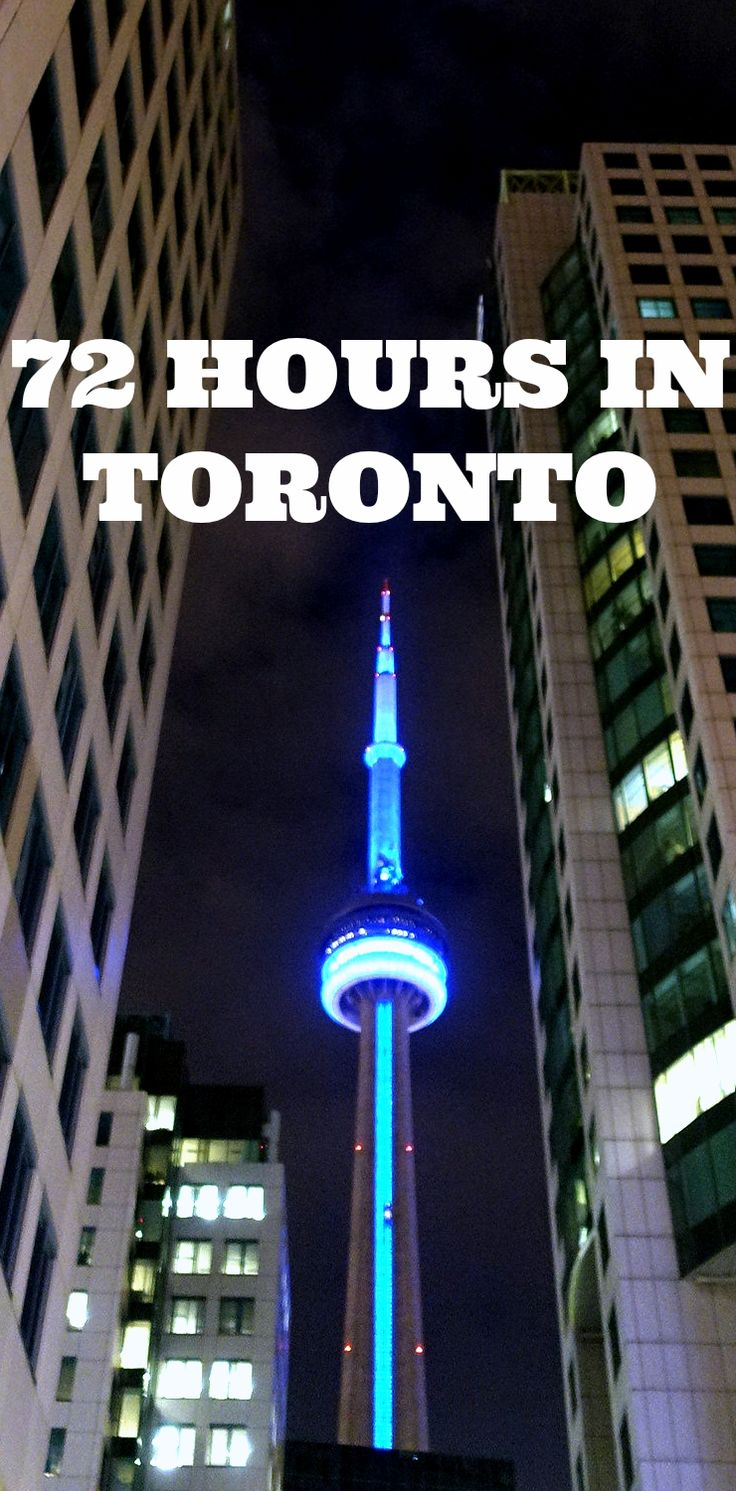 Planning a trip to Toronto, Canada? Here's a destination guide with things to do and some helpful tips || http://www.rtwgirl.com/72-hour-guide-to-toronto/