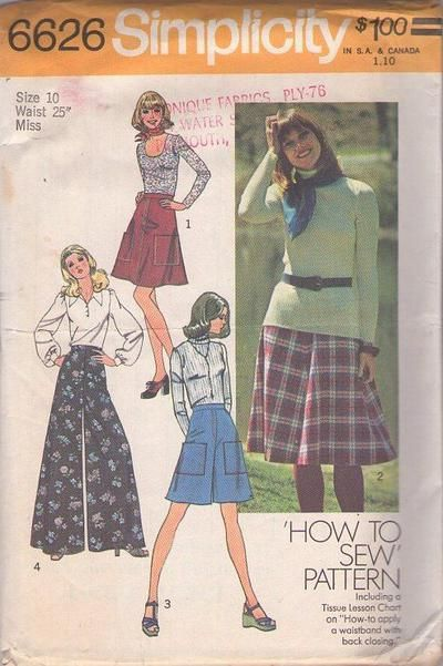52 best sewing culottes images on Pinterest