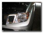 2005-2016 Nissan Frontier Headlight Bulbs Replacement Guide