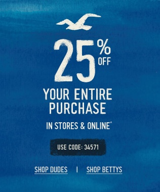photograph regarding Hollister Printable Coupon identify Hollister coupon codes for currently : Iplay the us coupon codes 2018