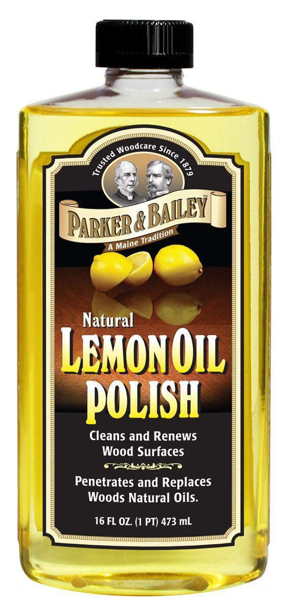 Natural Lemon Oil Polish 16oz Sun The Ojays And