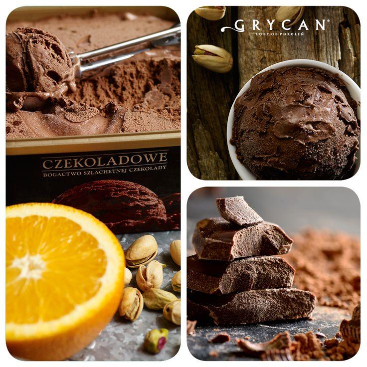 Lody Grycan Czekoladowe | Grycan Chocolate Ice Cream