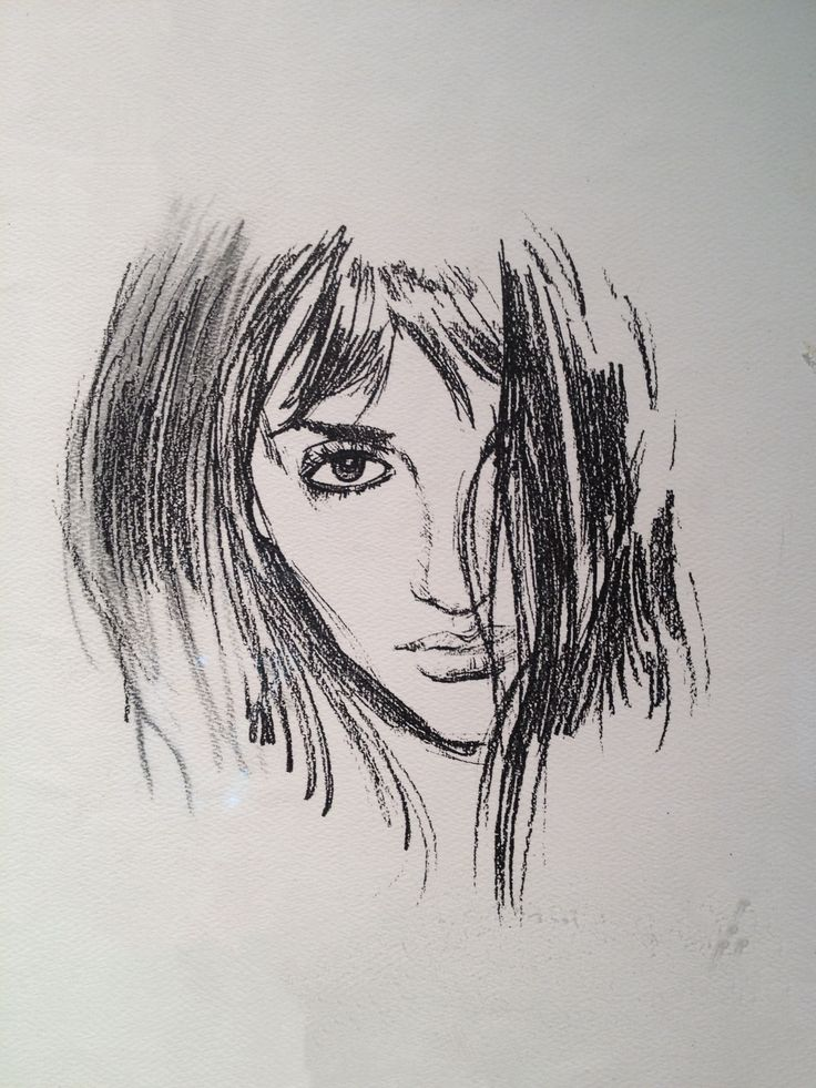 Sofia Sketch from Vanilla Sky