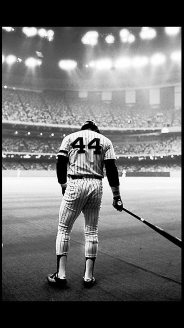There is only one #44 - Reggie Jackson.