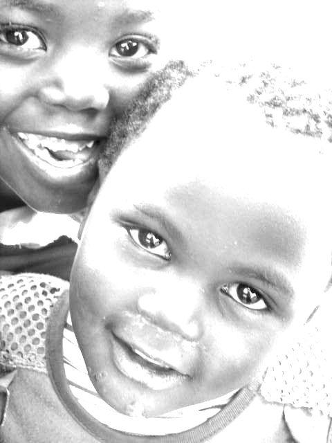 Kids in Zambia...LOVE the beautiful children there