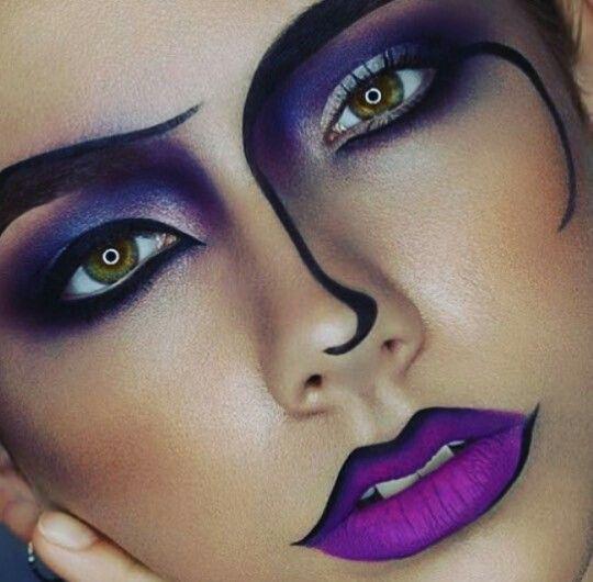 Popart makeup
