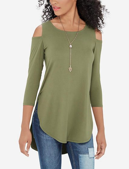 Cold Shoulder Tunic from TheLimited.com