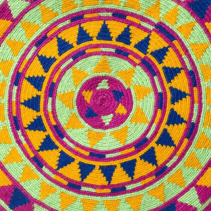 Handmade Authentic Wayuu Mochila Bag