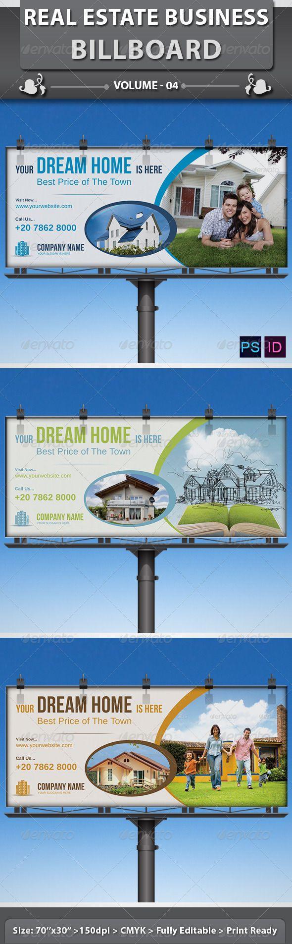 Real estate billboard design samples - Real Estate Business Billboard Volume 4