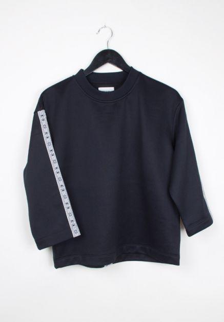 #woodwood Hope Sweatshirt (dark navy) http://www.allfound-store.com/hope-sweatshirt-dark-navy