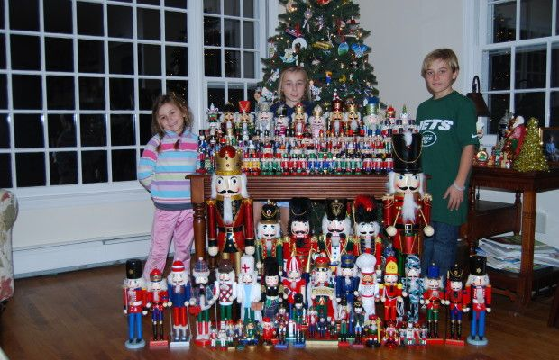 Collect one new nutcracker each year
