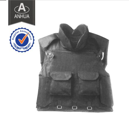 ·material: PE or Kevlar fiber is available ·defense area:0.40㎡ ·defense level: NIJ IIIA can resist 9 mm FMJ RN bullets or .44 Magnum SJHP bullets ANHUA police equipment manufacturing can produce not only BULLET PROOF VBULLET PROOF VEST BPV-AH03, but also bulletproof shieldf ,bullet proof helmetf, etc. If you have any questions, pls contact us at any time. We will give you reply within 24 hours.  Tel:0086-25-85571958 E-mail: machong@anhuapolice.com anhuapolice@aliyun.com…