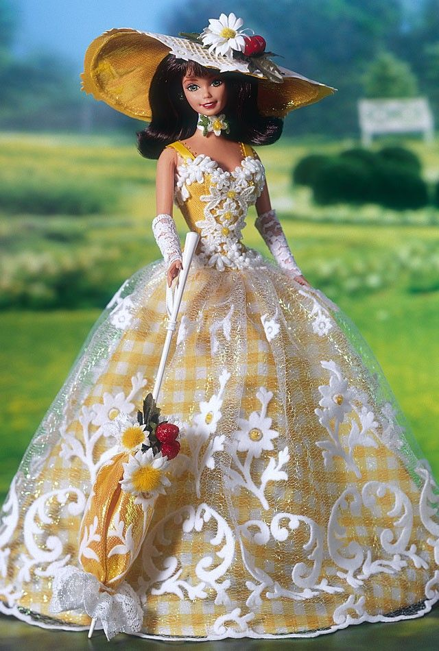 Summer Splendor Barbie Doll Barbie Gowns Barbie Dolls Barbie