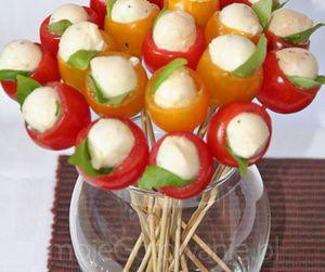 Bukiet z pomidorów beata harężlak