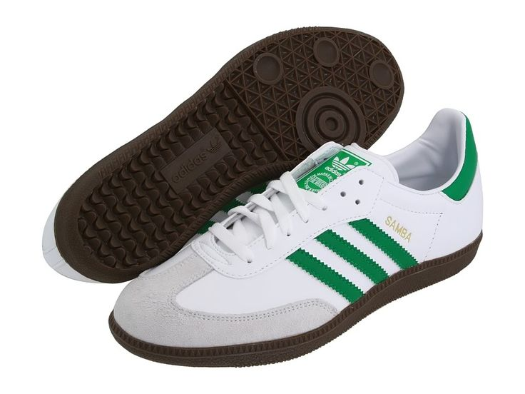 Adidas Samba Shoes All Colors | Details about Adidas Originals Samba White Fairway Green Leather Gum ...