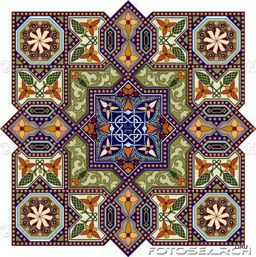 восточный узор 11 - Схемы вышивки - СнежанаР - Авторы - Портал «Вышивка крестом»