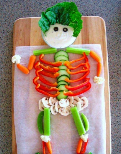 Having a problem getting your kids to eat veggies.  Here's a really creative way for them to think of veggies as fun!