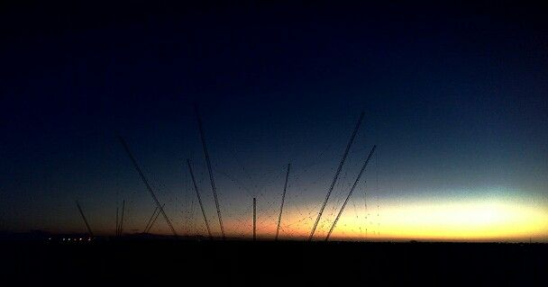 Sunset Port Hedland W.A
