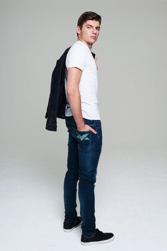Max Verstappen Denim mode Esquire.