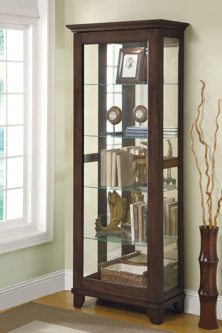Best Curio Cabinets Images On Pinterest Glass Cabinets Curio - Curio cabinet glass replacement