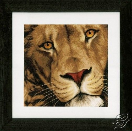 King of Animals - Cross Stitch Kits by VERVACO - PN-0154979