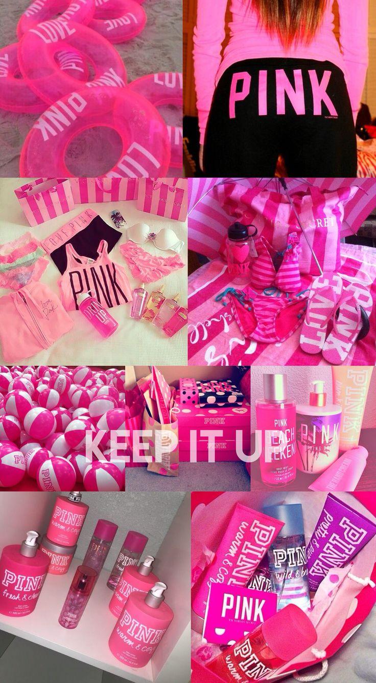 VS, Victoria secret, quote, pink, hot pink, wallpaper, background, hd, iPhone