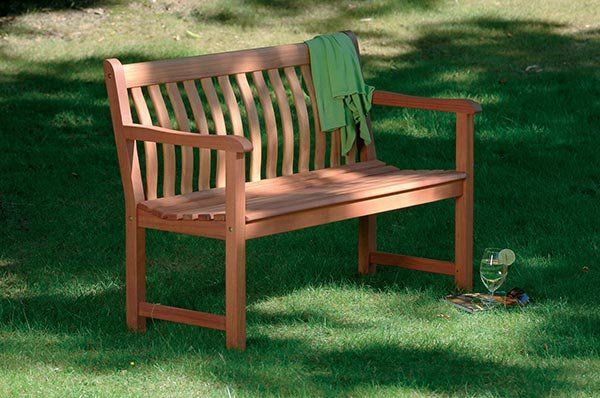 Alexander Rose Cornis Broadfield Bench 4ft With Free Brass Plaque U0026 Cushion  Link: Http: