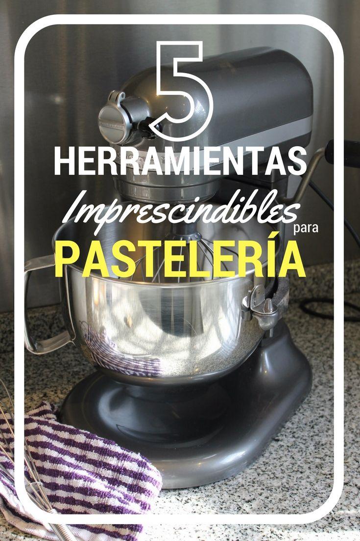Les muestro las 5 herramientas de pastelería que no les puede faltar en su cocina. Nunca subestimemos el poder de cocinar con buenas herramientas ademas de materia prima. Les cuento porque.