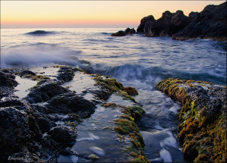 Colors of the sea by Emanuele Torrisi, via 500px: Color