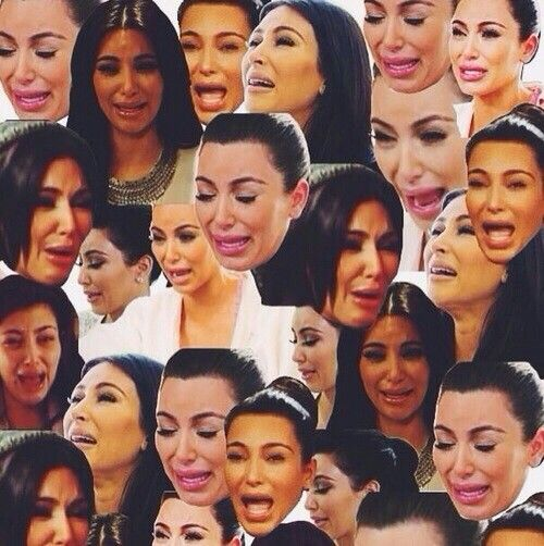 Kim kardashian crying is the best backgrounds - Kim kardashian crying collage ...