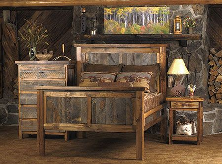 25+ best Reclaimed wood bedroom furniture ideas on Pinterest ...