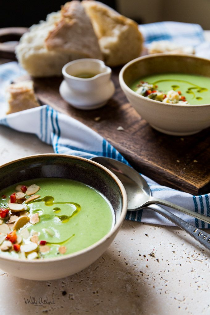 Super Quick Broccoli Blue Cheese Soup www.wildeorchard.co.uk