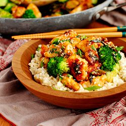 Lighter Sesame Chicken is healthier, and faster, than take-out!
