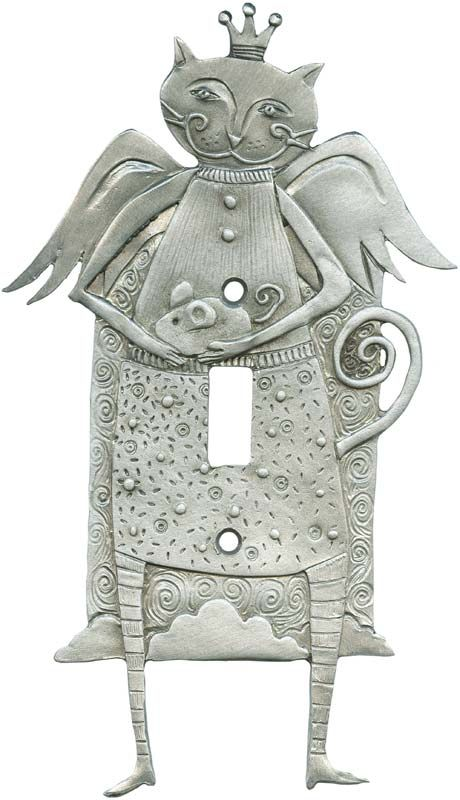 CAT ANGEL Switch Plates, Outlet Covers & Rocker Switchplates
