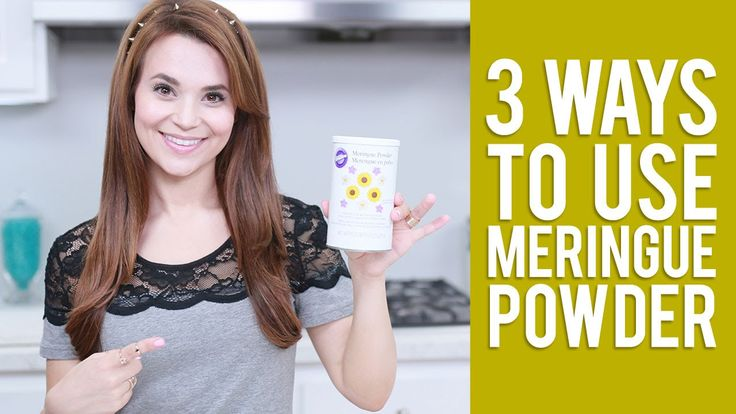 3 Ways to use Meringue Powder | Everything You Want to Know from Rosanna...