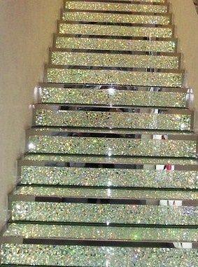 Les 25 meilleures id es de la cat gorie escaliers for Miroir eclat silver
