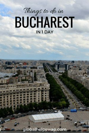 Things to do in Bucharest in one day. Read these travel tips to make the most of your trip to Bucharest