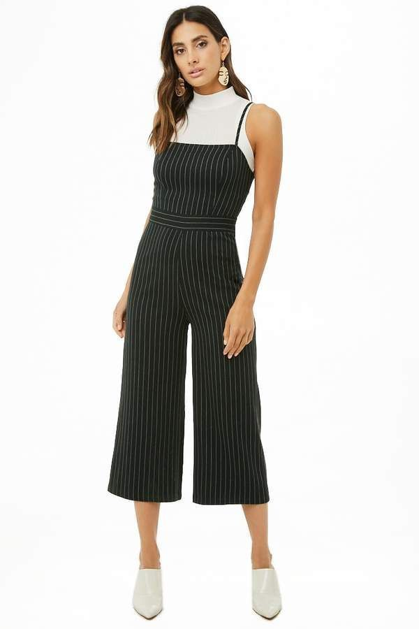 Forever 21 Striped Cami Jumpsuit Outfit Ideas For Women