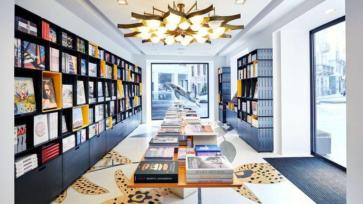 Taschen Milan Store - Furniture & Display Systems